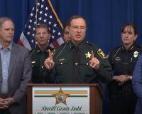 [VIDEO] Florida Sheriff To Rioters: 'You're Going To Jail, We'll Enjoy Taking You Down'