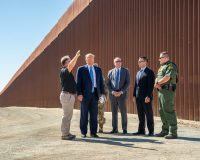 President Donald Trump's Border Wall Is Growing Rapidly, He's Determined To Reach Year End Goal