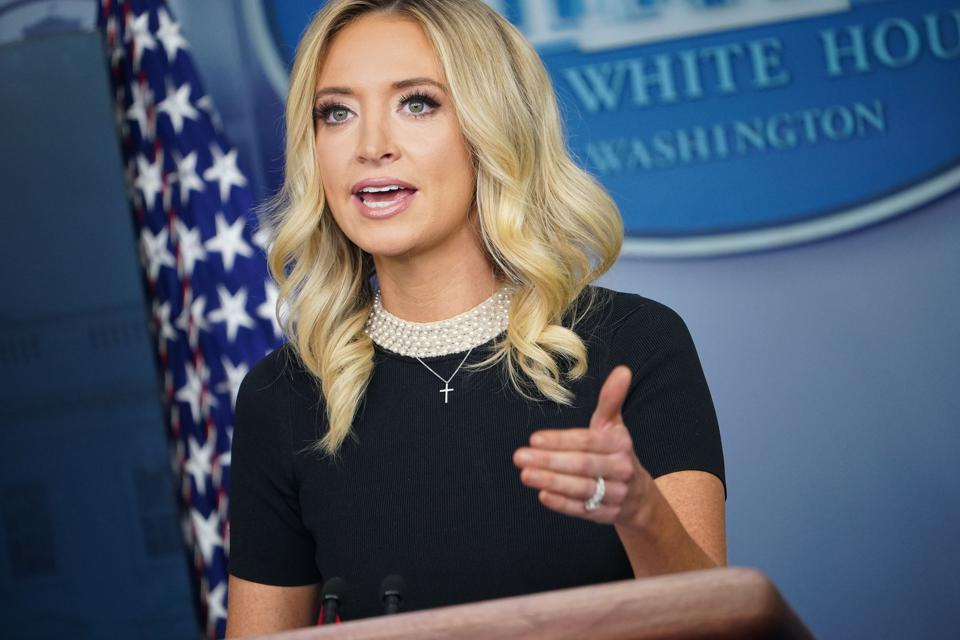 BREAKING: WH Press Secretary Kayleigh McEnany Announced Her COVID-19 Test Results